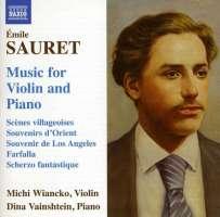 SAURET: Music for Violin & Piano