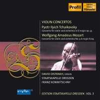 Mozart: Violin Concerto, K219 / Tchaikovsky: Violin Concerto, Op 35