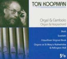 Organ & Harpsichord (Bach · Scarlatti · Fitzwilliam Virginal Book)