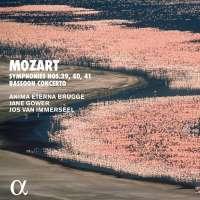 Mozart: Symphonies nos. 39 - 41 and bassoon concerto
