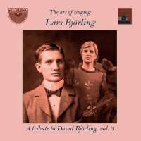 Art of Singing Vol. 3 - Lars Björling