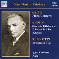 Ignaz Friedman - Complete Recordings Vol.2
