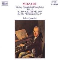 Mozart: String Quartets, K. 168-169 and K. 589, 'Prussian No. 2'