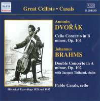 DVORAK: Cello Concerto / BRAHMS: Double Concerto