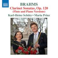 Brahms: Clarinet Sonatas (Flute and Piano Versions)