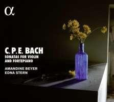 Bach C.P.E.: Sonatas for violin and fortepiano