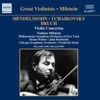 Mendelssohn / Bruch / Tchaikovsky: Violin Concertos