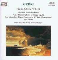 GRIEG: Piano Music vol.14