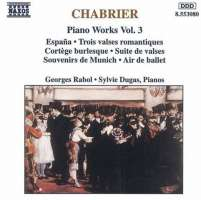 CHABRIER: Piano Works vol. 3
