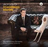 Schoenberg & Brahms: Violin Concertos