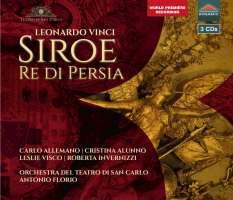 Vinci: Siroe, Re di Persia