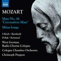 Mozart: Complete Masses Vol. 1 - 'Coronation Mass'; Missa longa
