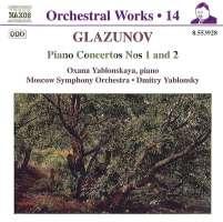 GLAZUNOV: Piano Concertos