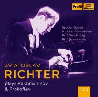 Sviatoslav Richter plays Rakhmaninov & Prokofiev