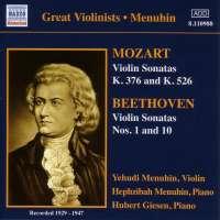 MOZART / BRAHMS: Violin Sonatas