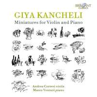 Kancheli: Miniatures for Violin and Piano